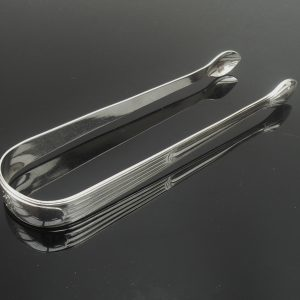 Silver Sugar Tongs, London 1794, Peter & Anne Bateman