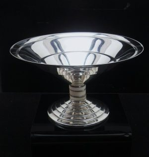 Silver Pedestal Bowl, ART DECO, Birmingham 1933, Wilson & Gill