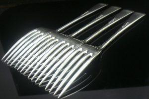 4 silver dinner/table forks, Elkington & Co 1932