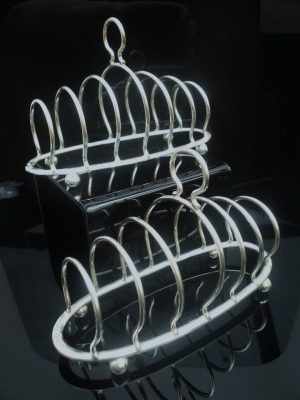 Silver Toast Racks, Birmingham 1927, J E Bushell