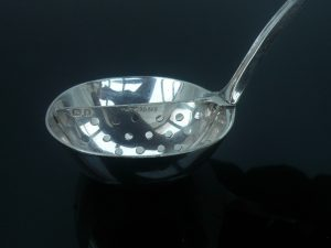 Silver Mint Sauce Ladle, David Landsborough Fullerton, London 1929