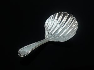 Antique Silver Caddy Spoon, London 1794