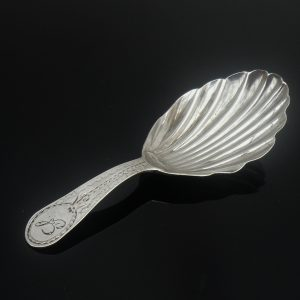 Antique Silver Caddy Spoon, London 1810