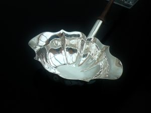 Silver Punch Ladle, London 1743