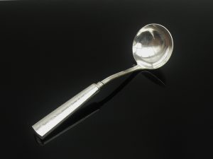 Sterling Silver Sauce Ladle, Possibly American