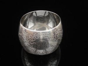 Silver Napkin Ring, James Wakely & Frank Clarke Wheeler, London 1891