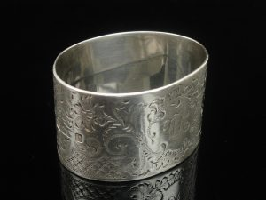 Silver Napkin Ring, Atkin Brothers, Sheffield 1902