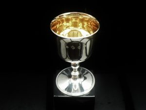 Silver Goblet, William Comyns & Sons Ltd, London 1990