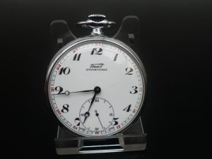 Tissot Pocket Watch from 1953, 15 Jewel Stem Wind