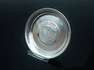 Silver Pin Dish Tray, International Congress on Large Dams, New York 1958