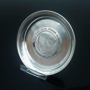 Silver Pin Dish Tray, International Congress on Large Dams, New York 1958