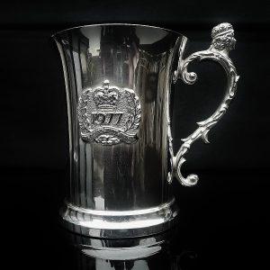 Silver Tankard, 1977 Royal Jubilee, Birmingham Mint