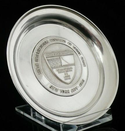 Silver Pin Dish Tray