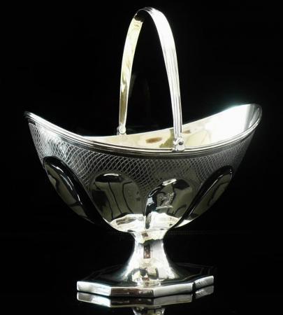 Solomon Hougham Silver Sugar Basket 1798