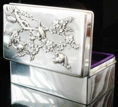 Wang Nam & Co Chinese Silver Box