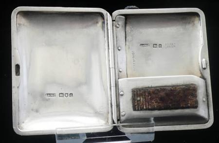 Asprey Silver Vesta Case