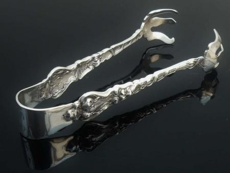 American Sterling Silver Sugar Tongs