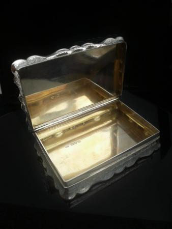 Leopold Ltd Silver Snuff Box