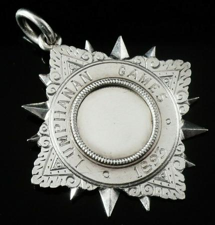 Antique Sterling Silver Medal