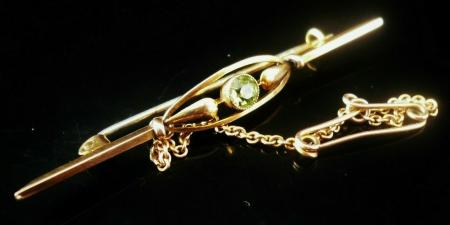 Antique Rose Gold Brooch