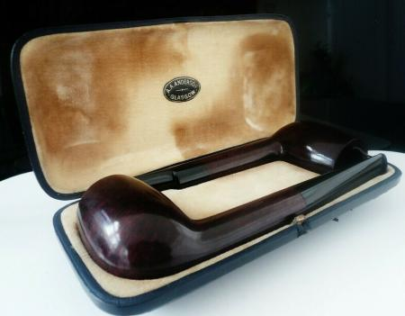 Antique Cased Smokers Pipes