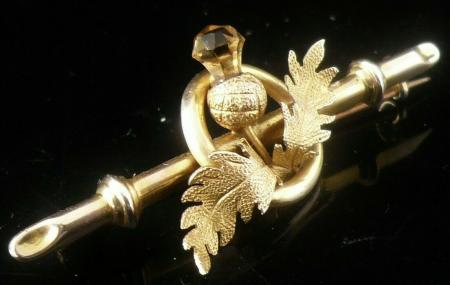 9ct Gold Brooch