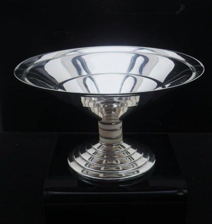 Silver Pedestal Bowl