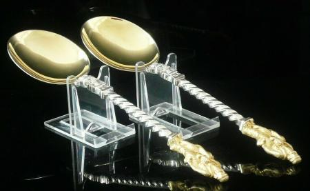 Silver Plate Apostle Spoons