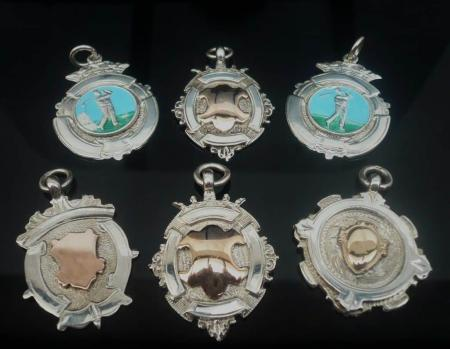Collection of Watch Fob Medals