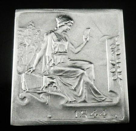 Cased Sterling Silver Medallion