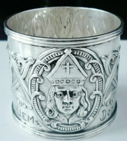 Norwegian Silver Napkin Ring