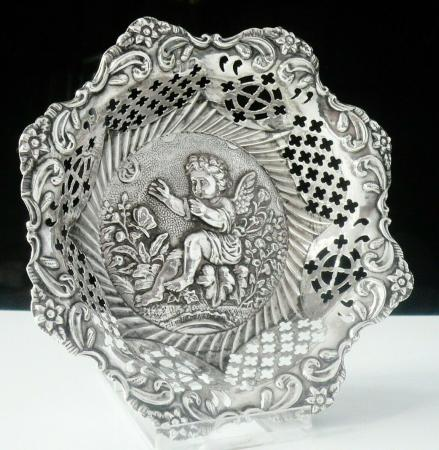 Sterling Silver Openwork Dish