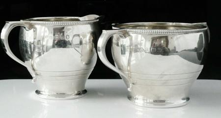 Sugar Bowl Cream Jug