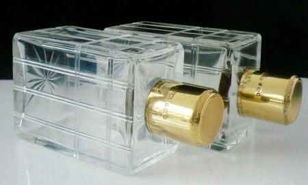 Cut Glass Cologne Bottles