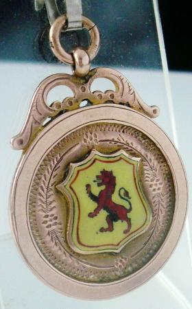 Pocket Watch Fob Medal
