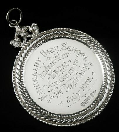 Silver School Dux Medal