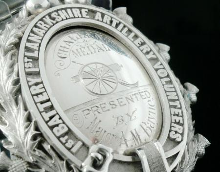 Antique Sterling Silver Medal