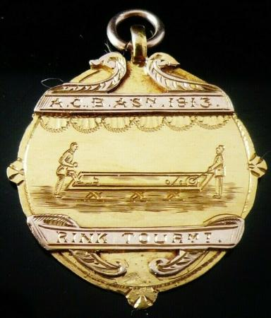 Gold Pocket Watch Fob