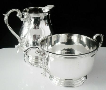 Sterling Silver Cream Jug