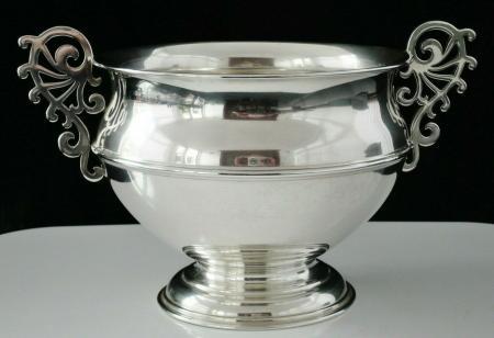 Silver 2 Handled Bowl