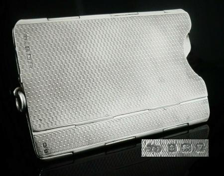 Silver Collapsible Card Case