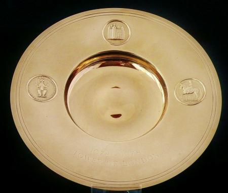 9ct Gold Armada Dish