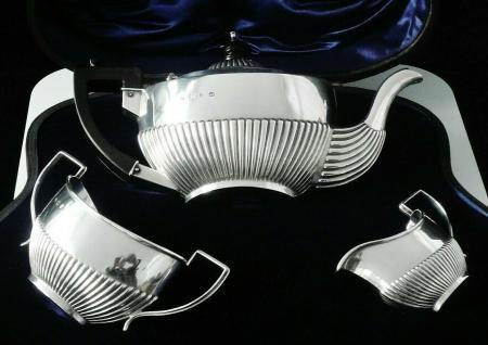 Silver Bachelor Tea Set