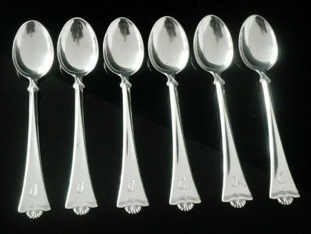 830 Standard Silver Teaspoons
