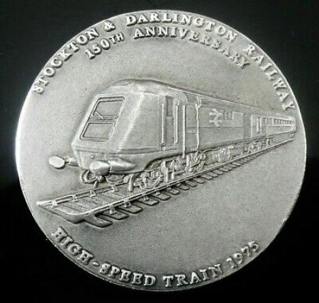 English Sterling Silver Medallion