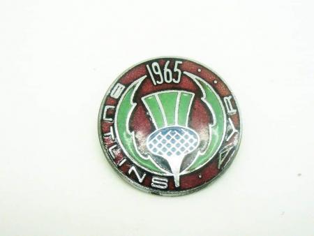 Butlins AYR 1965 Enamel Badge