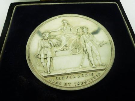 Silver Agricultural Farming Medal 1897, Highland Agricultural Society, Cased, REF:281K